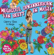 Carry Slee , Megacool opkikkerboek van Britt en Masja