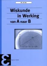M. de Gee , Wiskunde in werking