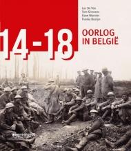 Luc De Vos, Franky  Bostyn, Tom  Simoens, Dave  Warnier `14-`18. Oorlog in Belgi