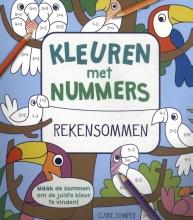 Kleuren met nummers: Rekensommen