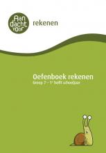 , Oefenboek Rekenen Groep 7 - 1e helft schooljaar