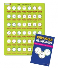 KRIS KRAS KOMBI - Klokkijkenpuzzel+klokkijkenboekje (LAR54)