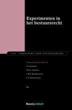 C.A. Blankenstein G.J. Stoepker  F.M.E. Schulmer  C.H.R. Mattheussens, Experimenten in het bestuursrecht