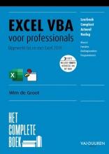 Wim de Groot , Het Complete Boek: Excel VBA voor professionals, 3e editie