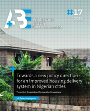 Job Taiwo  Gbadegesin Towards a new policy direction for an improved housing delivery system in Nigerian cities