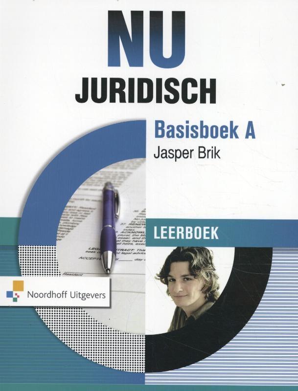 Jasper Brik,NU Juridisch basisboek A leerboek