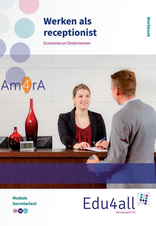 Angela van Oeffelen, Deborah Weimer,Werken als receptionist