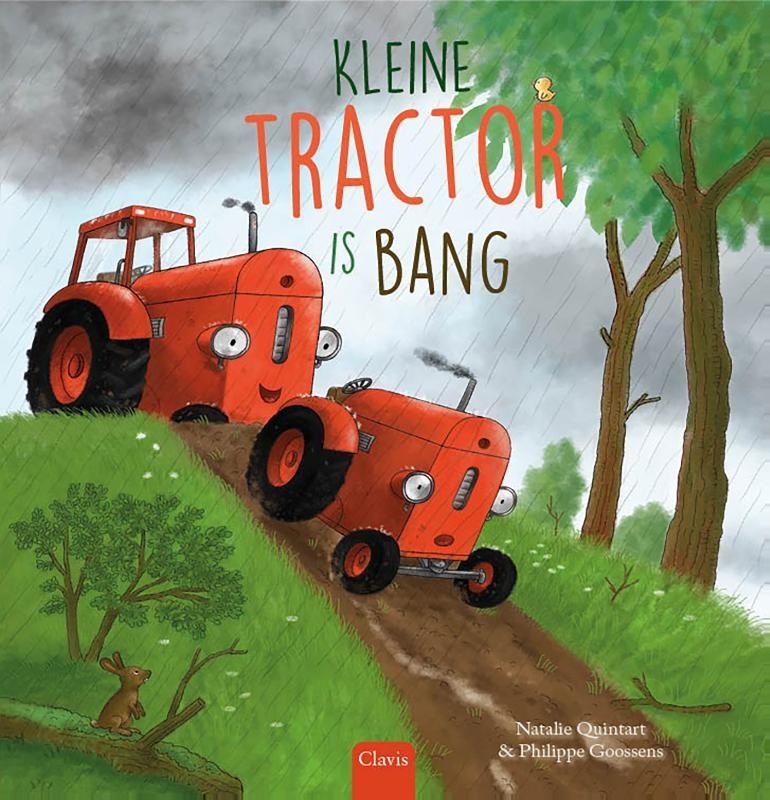 Natalie Quintart,Kleine Tractor is bang