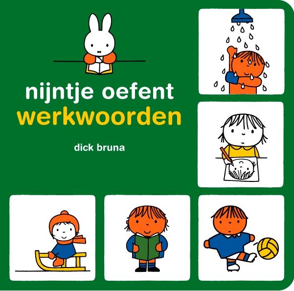 Dick Bruna,Nijntje oefent werkwoorden