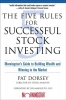 Dorsey, Pat,The Five Rules For Successful Stock Investing