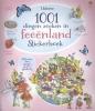 ,1001 DINGEN ZOEKEN IN FEEENLAND - STICKERBOEK