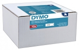 ,Labeltape Dymo 45013 D1 12mmx7m zwart op wit 10rol