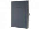 ,notitieboek Conceptum Pure    donkergrijs A4 194blz gelijnd