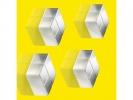 ,magneet voor glasbord Sigel 20x10x20mm Extra Strong 4 stuks