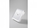 <b>wandklok Sigel Inu White 35x35cm kunststof 3D front</b>,