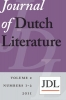 ,Journal of Dutch literature  / 2011