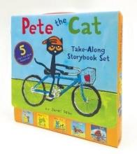 James Dean Pete the Cat Take-Along Storybook Set
