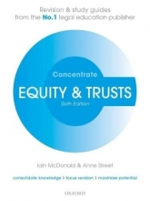McDonald, Iain Equity & Trusts Concentrate