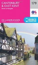 Ordnance Survey Canterbury & East Kent, Dover & Margate