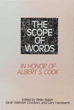 Baker, Peter,   Goodwin, Sarah Webster The Scope of Words