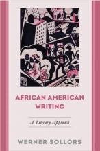 Sollors, Werner African American Writing