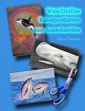 Wale/Delfine Kunstpostkarten zum Ausdrucken