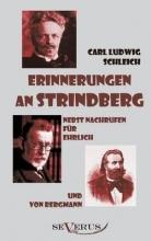 Schleich, Carl Ludwig Erinnerungen an Strindberg nebst Nachrufen für Ehrlich und von Bergmann