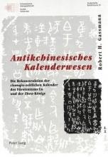 Mertens, Annemaire Antikchinesisches Kalenderwesen