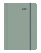 , Agenda 2021 teneues mini flexi earthline lake 7d2p 8x11 cm softcover