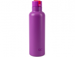 , Quarto colori on the go thermosfles  violet rood