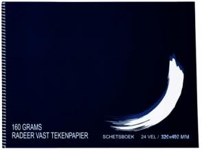 , Schetsboek 160gr 320x480mm 24v