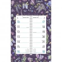 , Omlegkalender week janneke brinkman keizerskroon 21x34