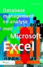 Mark  Rosenkrantz Database management en analyses met Microsoft Excel
