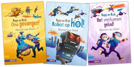 Marcel van Driel , Pakket B.O.J. Uitvindingen AVI M4 (3 titels)