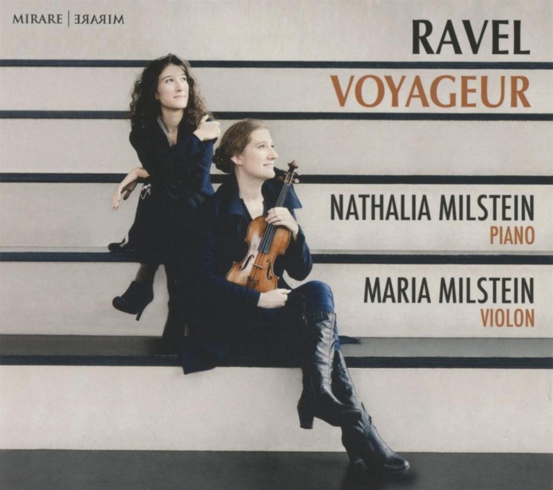 N & m milstein,Cd ravel voyageur