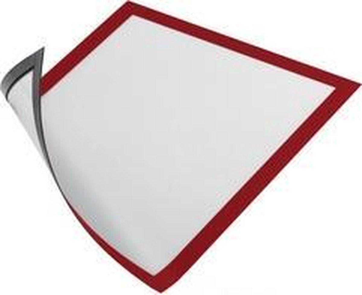 ,Duraframe Durable 486903 magnetisch A4 rood