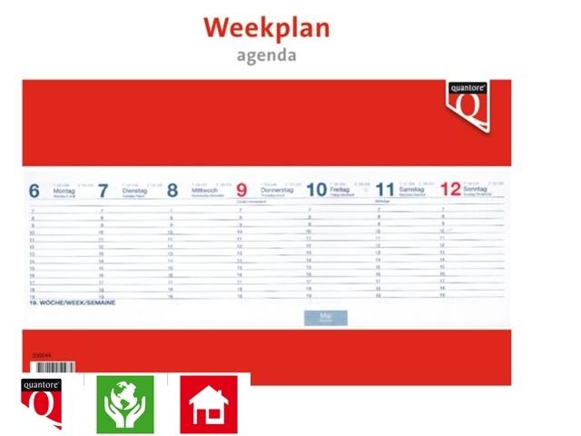 ,Weekplanagenda 2021 Quantore