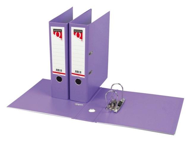 ,Ordner Quantore A4 80mm PP violet