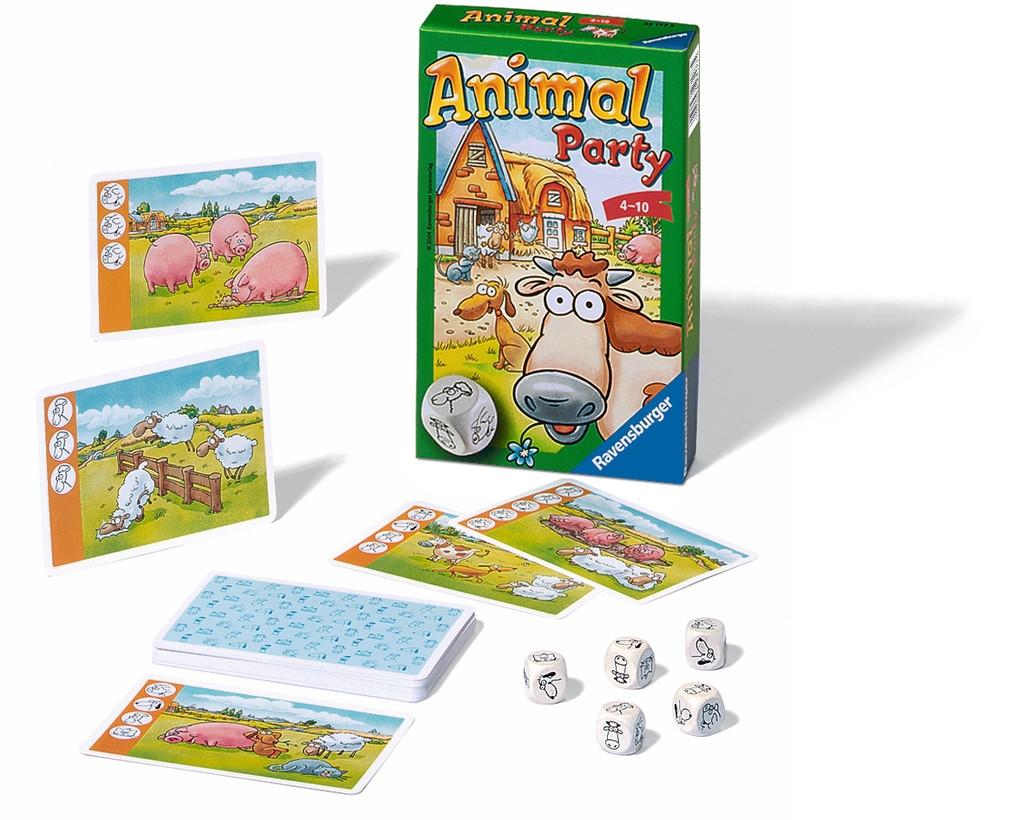 Rav-231775,Animal party pocketspel