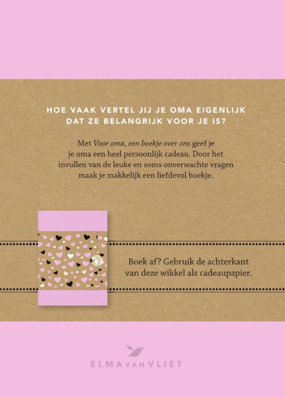 Elma van Vliet,Voor oma