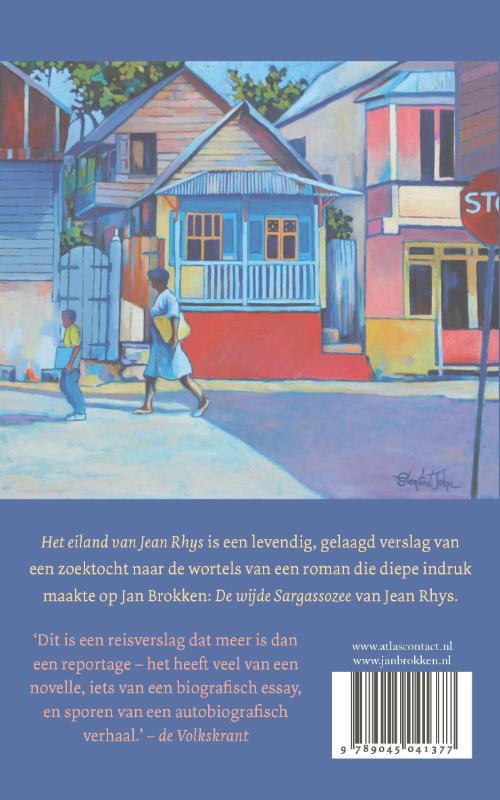 Jan Brokken,Het eiland van Jean Rhys