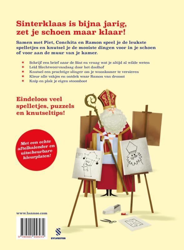 Mark Borgions,Dag Sinterklaas doeboek