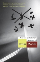 Marias, Javier Manana en la batalla piensa en mi Tomorrow in the Battle Think on Me