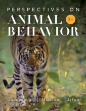 Judith E. Goodenough,   Betty McGuire,   Elizabeth Jakob,   Robert A. Wallace Perspectives on Animal Behavior
