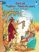 Peter F. Copeland Great Native Americans Coloring Book