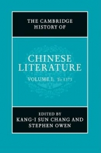 The Cambridge History of Chinese Literature, 2-Volume Set