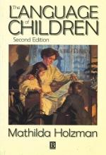 Mathilda Holzman The Language of Children