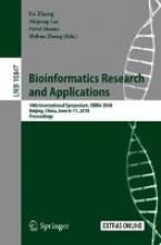 Fa Zhang,   Zhipeng Cai,   Pavel Skums,   Shihua Zhang Bioinformatics Research and Applications