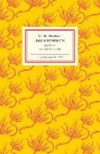 Mosebach, Martin Das Kissenbuch