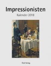 Impressionisten 2018. Kunstkarten-Einsteckkalender